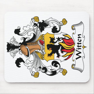 Witten Family Crest Mouse Pad