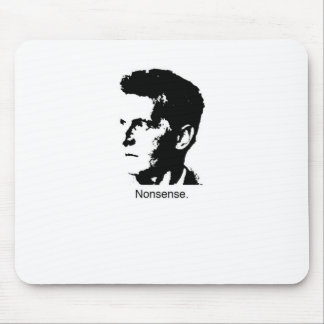 Wittgenstein s Charm Mouse Pad
