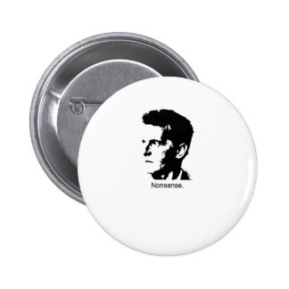 Wittgenstein's Charm 6 Cm Round Badge