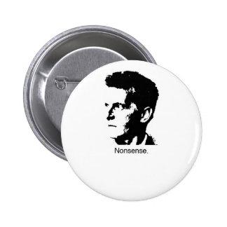 Wittgenstein's Charm Pinback Button