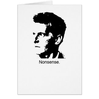 Wittgenstein's Charm Greeting Card