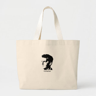Wittgenstein's Charm Large Tote Bag