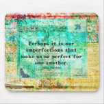 Witty Jane Austen quote Mouse Pad