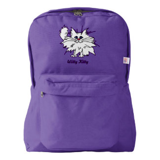 Witty Kitty American Apparel Backpack