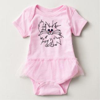 Witty Kitty Baby Tutu Bodysuit