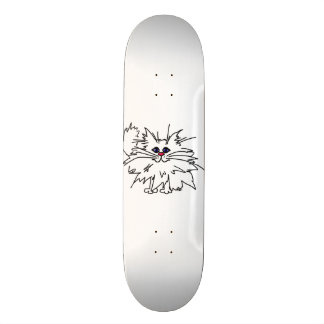 Witty Kitty Skate Board