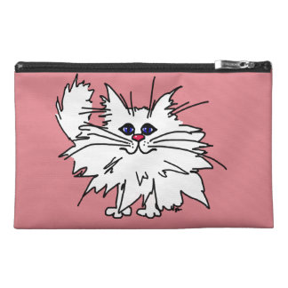 Witty Kitty Travel Tote Travel Accessory Bag