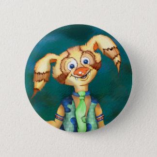 WITTY PITTY ALIEN CARTOON  Button Standard, 2¼ Inc