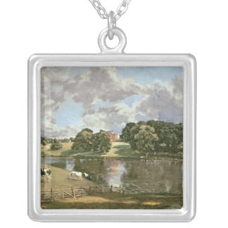 Wivenhoe Park, Essex, 1816 Silver Plated Necklace