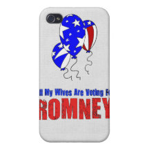 Wives For Romney Covers For iPhone 4