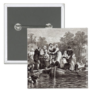 Wives for the Settlers at Jamestown 15 Cm Square Badge