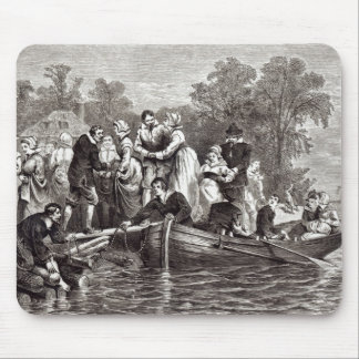 Wives for the Settlers at Jamestown Mouse Mat