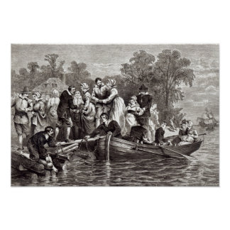 Wives for the Settlers at Jamestown Poster