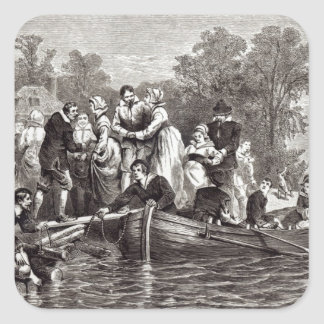 Wives for the Settlers at Jamestown Sticker