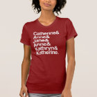 Wives of King Henry VIII T-Shirt