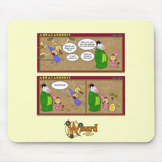 Wizard101 Abracadoodle Comic Mousepad