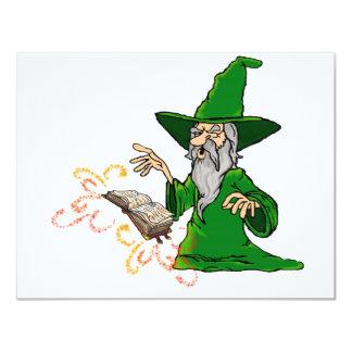 wizard 11 cm x 14 cm invitation card