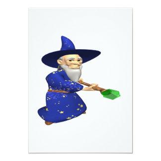 Wizard 13 Cm X 18 Cm Invitation Card