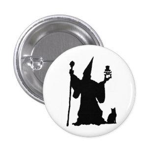 Wizard 3 Cm Round Badge