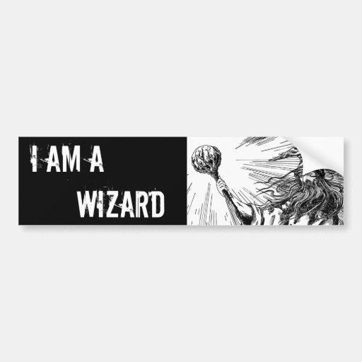 Wizard Bumper Stickers