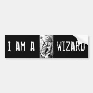 Wizard Bumper Sticker