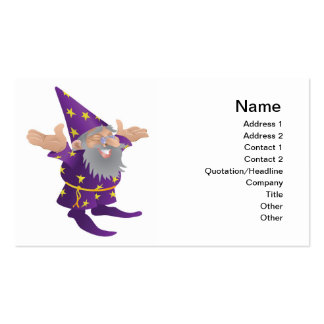 Wizard business card