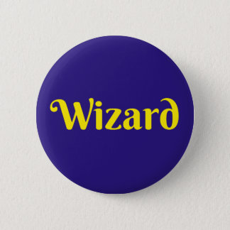 Wizard - Button Pin Badge