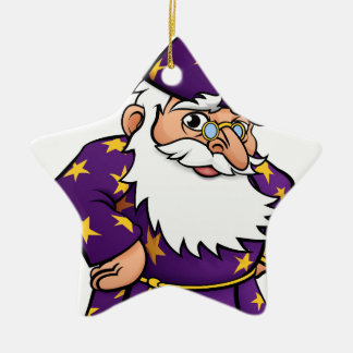 Wizard Cartoon Character Ceramic Star Decoration
