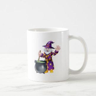 Wizard Cartoon Character Coffee Mug