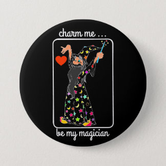 wizard charm ME 7.5 Cm Round Badge