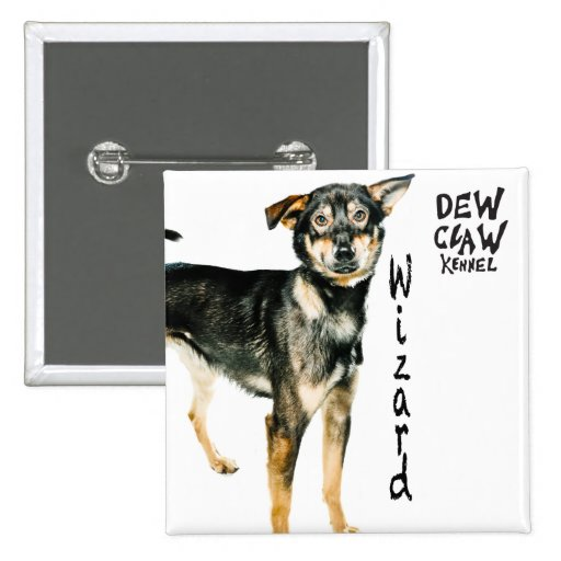 Wizard – Dew Claw Kennel Pup Button