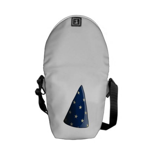Wizard Hat Courier Bags