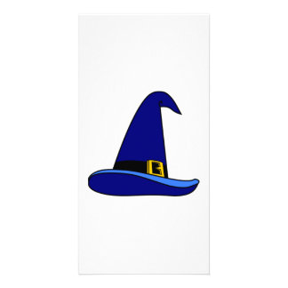 Wizard Hat Customized Photo Card