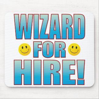 Wizard Hire Life B Mouse Mat