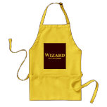 Wizard In Training Gifts Adult Apron