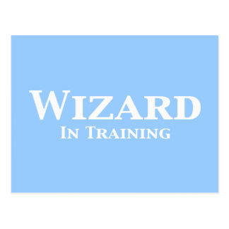 Wizard In Training Gifts Postcard