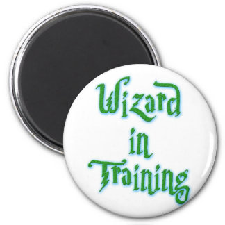 Wizard in Training green Magnet