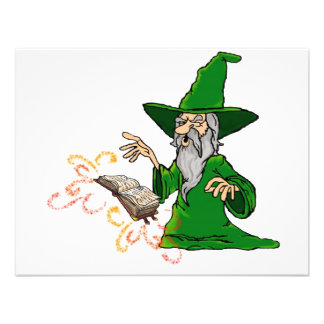wizard personalized invites