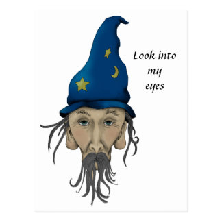 Wizard Invites You to a Party Postcard