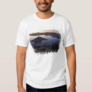 Wizard Island at dawn, Crater Lake National Park T-shirt