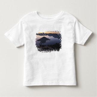 Wizard Island at dawn, Crater Lake National Park Toddler T-Shirt