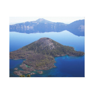 Wizard Island in Crater Lake Canvas Print