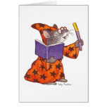 Wizard Mouse Greeting Card