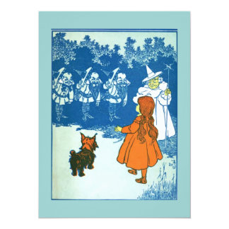 Wizard of Oz 14 Cm X 19 Cm Invitation Card