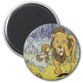 Wizard of Oz 6 Cm Round Magnet