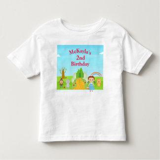 Wizard Of Oz Birthday T-shirt Toddler Kid