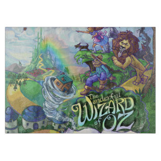 Wizard of Oz Cutting Board