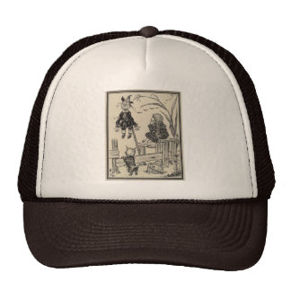 Wizard of Oz Dorothy and the Scarecrow Mesh Hat