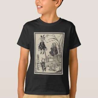 Wizard of Oz Dorothy and the Scarecrow T-Shirt