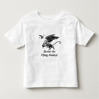 Wizard of OZ for the kids! Beware Flying Monkey! Toddler T-Shirt